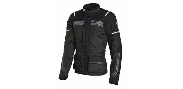 Richa Phantom Jacket Black Mens