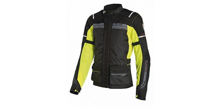 Richa Phantom Jacket Black/Fluo Ladies