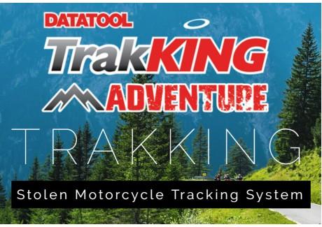 Datatool TrakKING Adventure for Honda scooters and motorbikes!