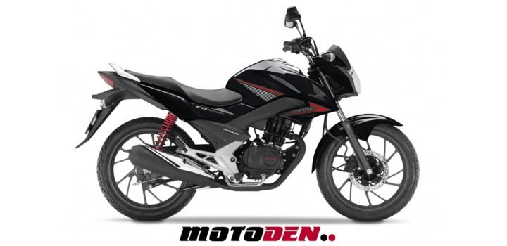 Honda CB125F PRE REG BLACK