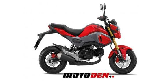 Honda MSX125 RED EX DEMO