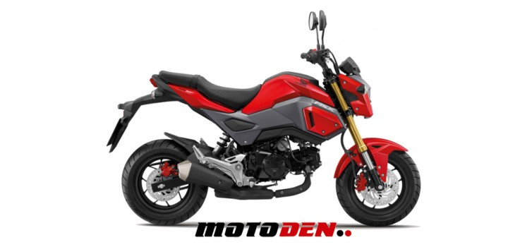 Honda MSX125 RED EX DEMO
