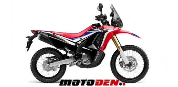 Honda CRF250 Rally DEMO