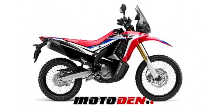 Honda CRF250 Rally DEMO