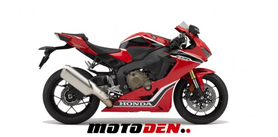 Honda CBR1000RR Fireblade ABS RED DEMO