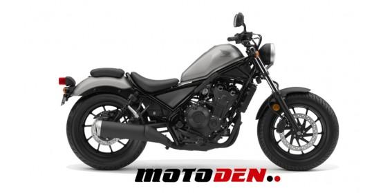 Honda CMX500 Rebel RED DEMO