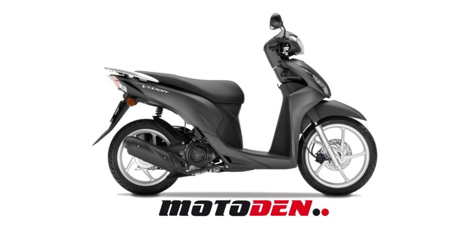 honda vision 110 in central london for sale motoden. Black Bedroom Furniture Sets. Home Design Ideas