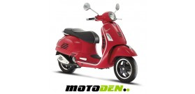 Vespa GTS Super 125 ABS EURO 3 - RED ONLY