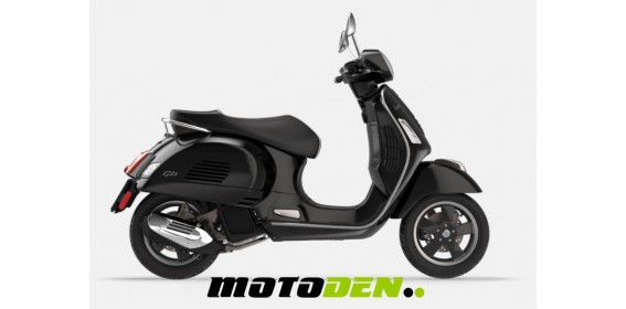 Vespa GTS 125 Super ABS BLACK ONLY