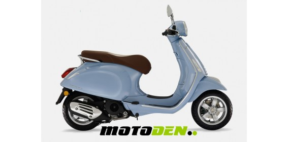 Vespa Primavera 125 ABS Blue and Coral Only