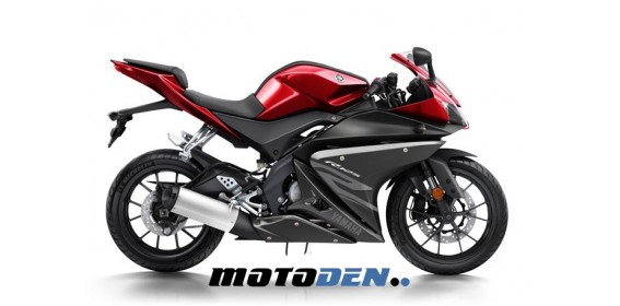 Yamaha YZF-R125 ABS Pre-Reg RED